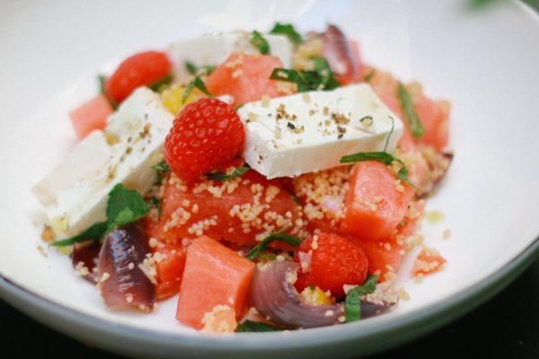 Melounový salát s fetou (La Loca)